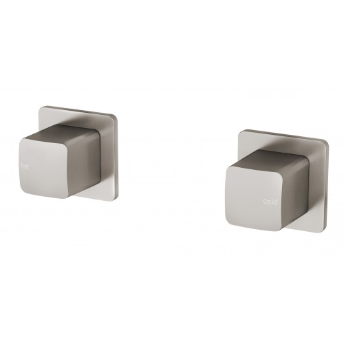 Phoenix Rush Wall Top Assemblies/Brushed Nickel