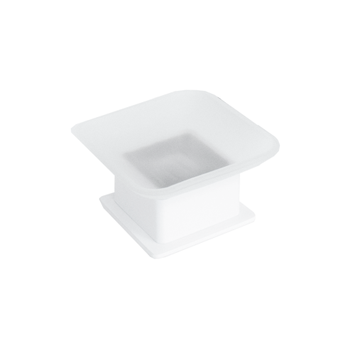 JamieJ Soho Soap Holder/Matte White