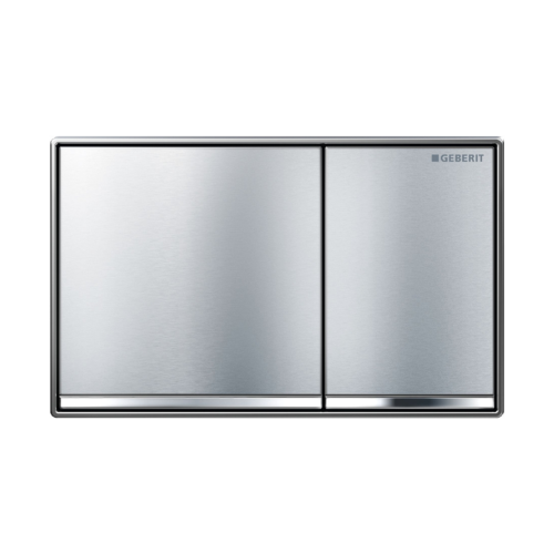 Geberit Sigma 60 Dual Flush Plate Brushed Chrome