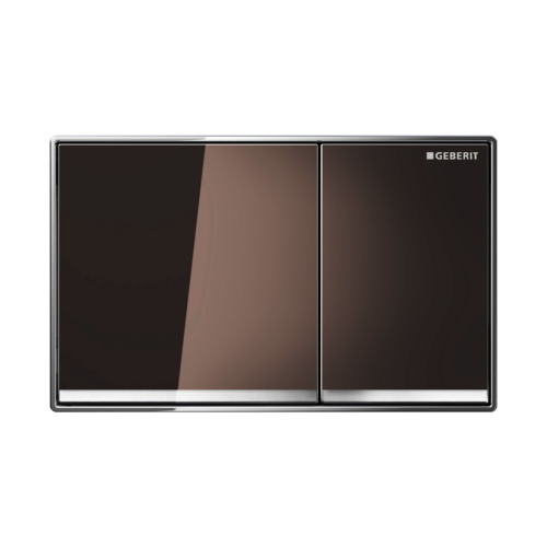 Geberit Sigma 60 Dual Flush Plate Umbra Glass