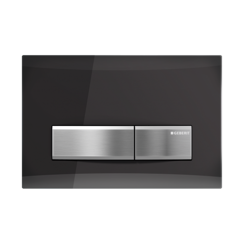 Geberit Sigma 50 Smoked Reflective Glass Flush Plate