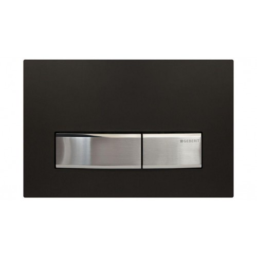 Geberit Sigma 50 Black Flush Plate