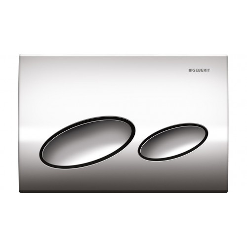 Geberit Kappa 20 Dual Flush Plate/Chrome
