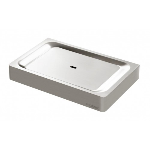 Phoenix Gloss Soap Dish/Brushed Nickel