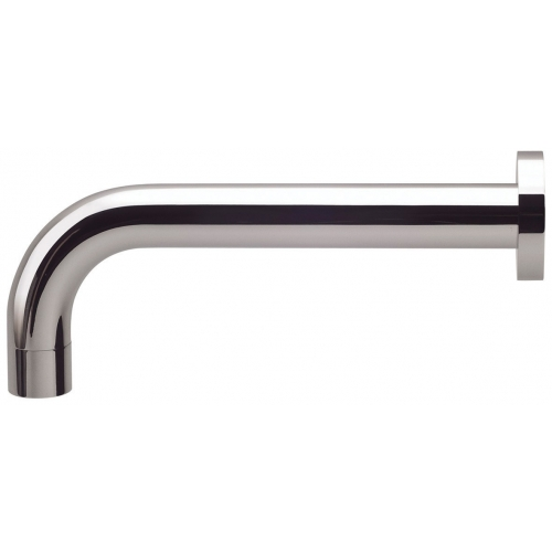 Phoenix Vivid Curved 250mm Wall Bath Outlet