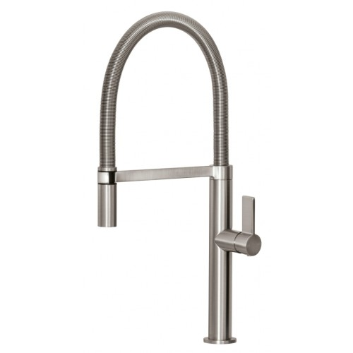 Phoenix Prize Flexible Coil Sink Mixer/Brushed Nickel