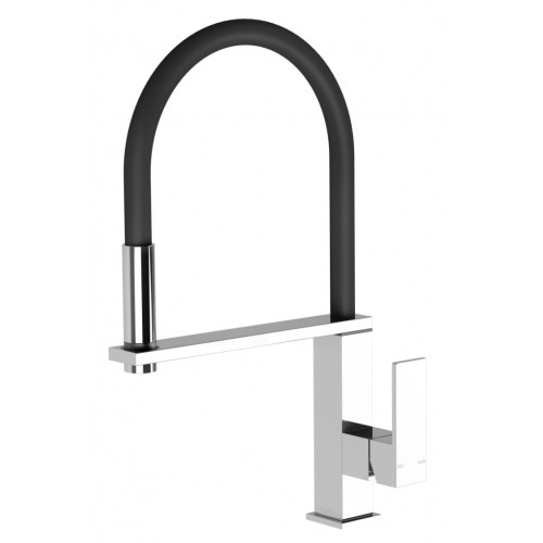 Phoenix Fezz Flexible Hose Sink Mixer (Square)