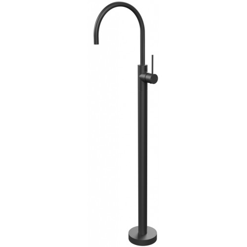 Phoenix Vivid Slimline Floor mounted Bath Mixer/Matte Black