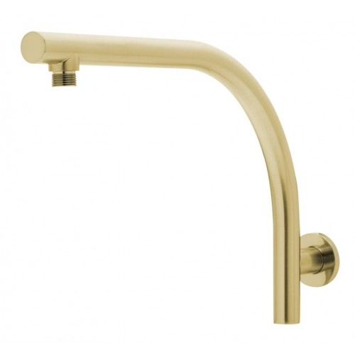 Phoenix Rush Wall Shower Arm/Brushed Gold