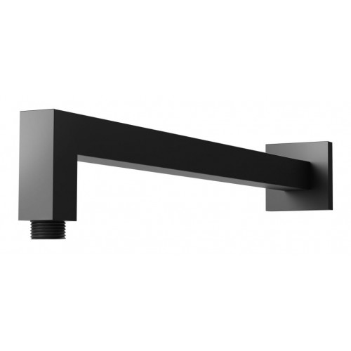 Phoenix Lexi Wall Square Shower Arm/Matte Black