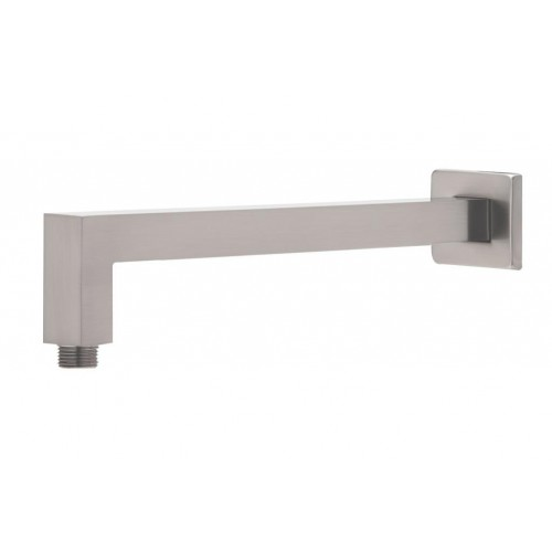 Phoenix Lexi Wall Square Shower Arm/Brushed Nickel