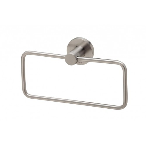 Phoenix Radii Hand Towel Holder Round Plate/Brushed Nickel