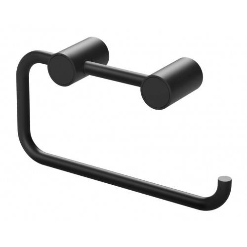 Phoenix Vivid Slimline Toilet Roll Holder/Matte Black