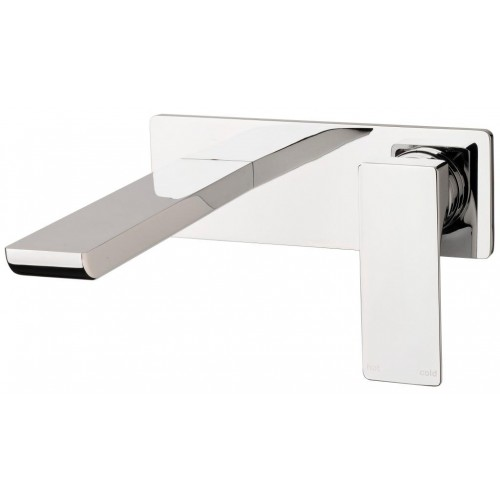 Phoenix Gloss Wall Basin/Bath Mixer