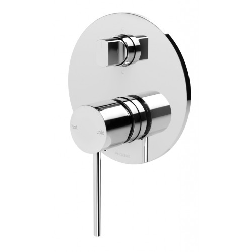 Phoenix Vivid Slimline Shower Bath Mixer/Diverter