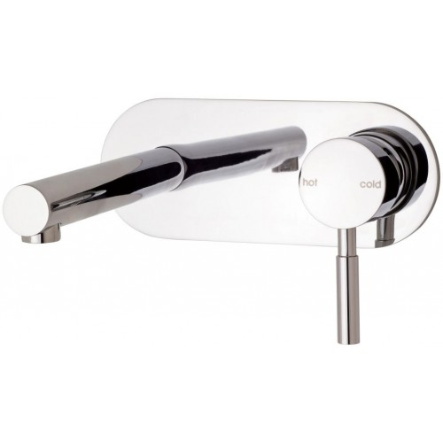 Phoenix Vivid Wall Basin Set with Plate