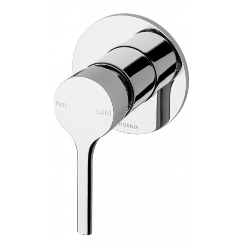 Phoenix Vivid Slimline Oval Shower/Wall Mixer