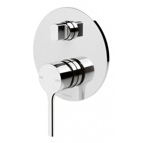 Phoenix Vivid Slimline Oval Shower/Bath Diverter Mixer