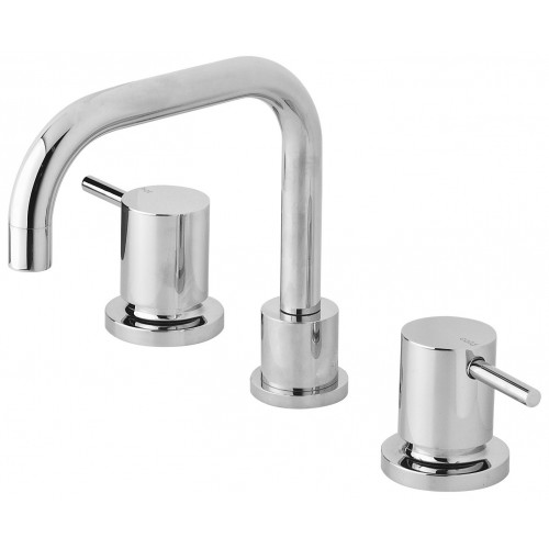 Phoenix Vivid Pin Lever Basin Set Swivel Squareline Outlet