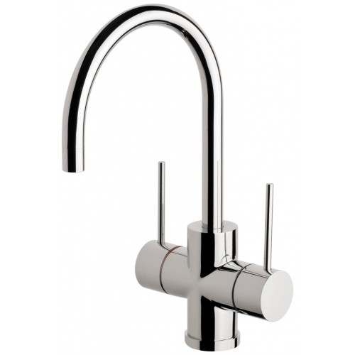Phoenix Vivid Slimline 160mm Twin Handle Sink Mixer