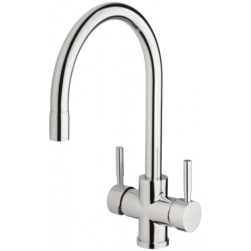 Phoenix Vivid Filtered Sink Mixer 220mm Gooseneck