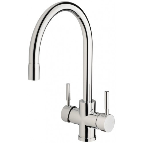 Phoenix Vivid Filtered Sink Mixer 220mm Gooseneck/With Filters