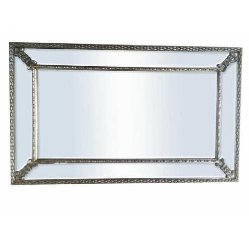 Antique Silver Charm Wall Mirror