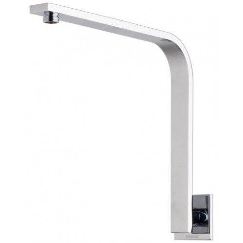 Phoenix Vivid Slimline Shower Arm/Square Plate