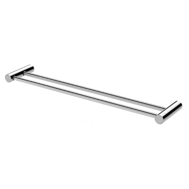 Phoenix Vivid Slimline 600mm Double Towel Rail