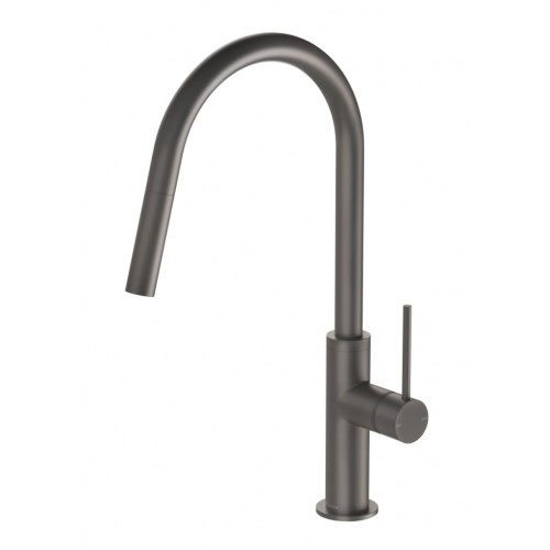 Phoenix Vivid Slimline Pull Out Sink Mixer/Gun Metal
