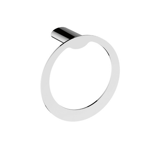Celine Towel Ring Chrome