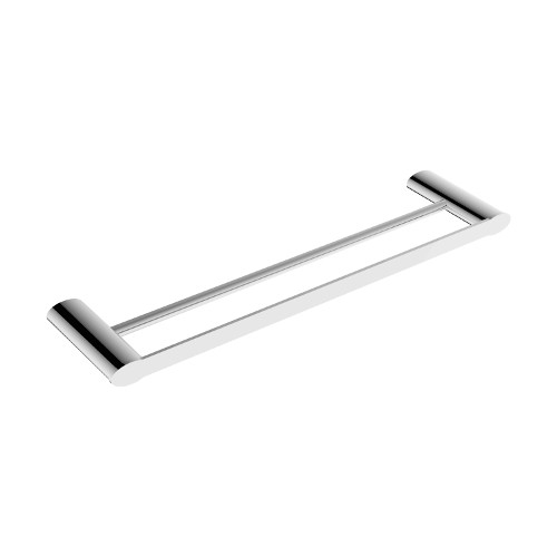 Celine Double Towel Rail 600mm Chrome