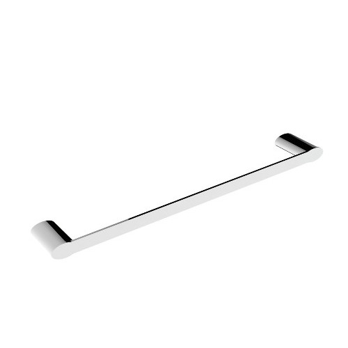 Celine Single Towel Rail 800mm Chrome