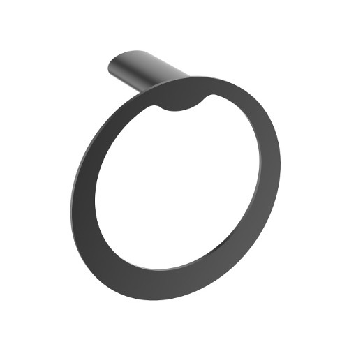 Celine Towel Ring Matte Black