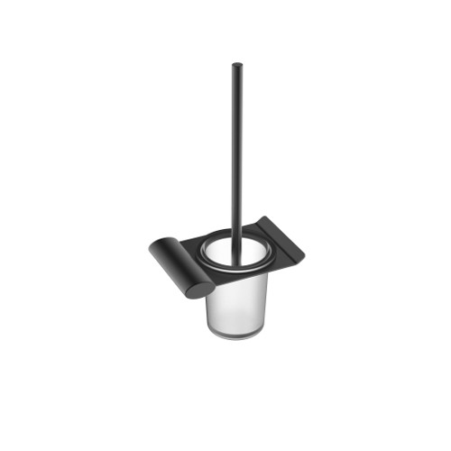 Celine Toilet Brush Holder Matte Black