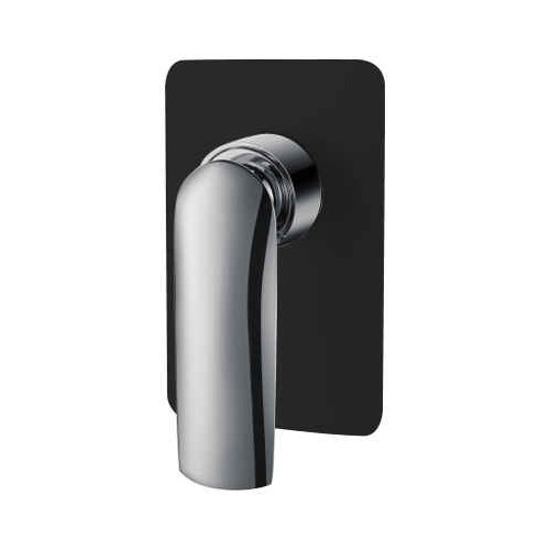 Celine Shower Mixer Matte Black/Chrome