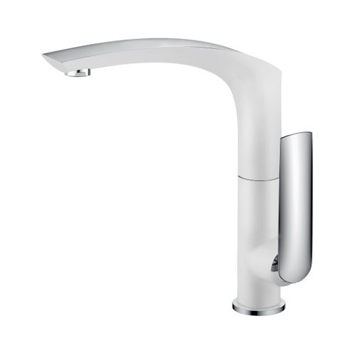 Celine Sink Mixer White/Chrome