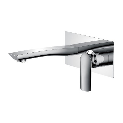 Celine Wall Basin/Bath Mixer Chrome