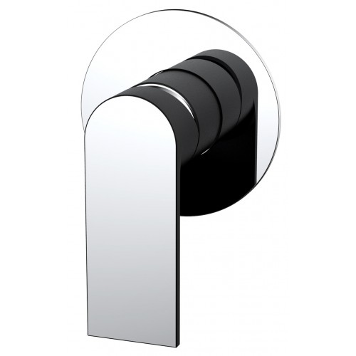Kiato Shower Mixer Black/Chrome