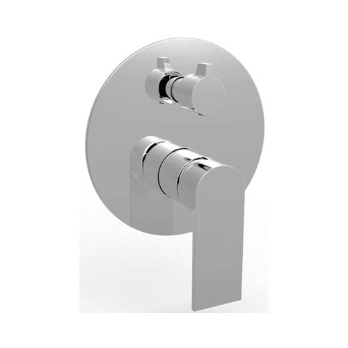 Kiato Wall Mixer/Diverter Chrome