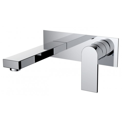 Kiato Wall Basin Mixer Chrome