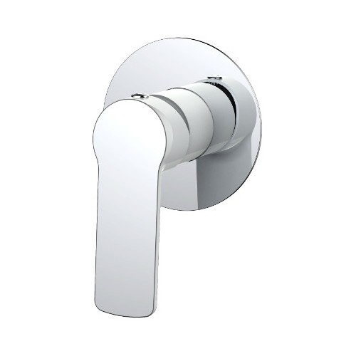 Akemi Shower Mixer White & Chrome