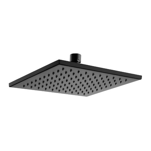 Kiato Kuro 200mm Shower Rose Matte Black