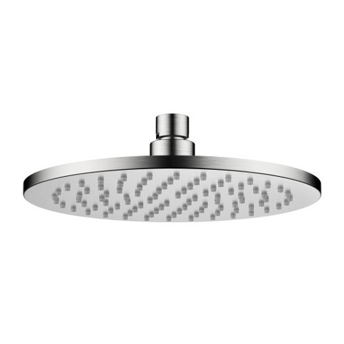 Akemi Overhead Rose 200mm Brushed Nickel