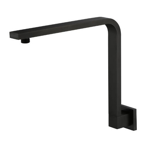 Kiato Kuro Hi Rise Shower Arm Matte Black