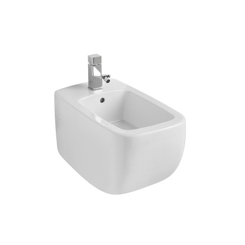Gala Eos Wall Hung Bidet with 1 Tap Hole