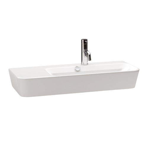 Gala Emma Square 80 Wall Basin Asymmetric Right Bowl