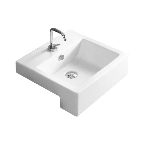 Gala City semi-recessed wash basin