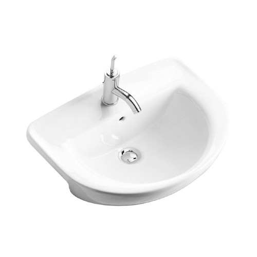 Gala Flag semi-recessed wash basin