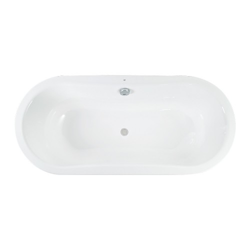 Gala Emma 1800 Pressed Metal Inset Bath